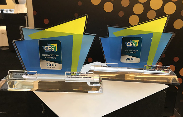 CES 2018 Innovation Awards QISTA